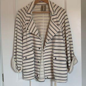 Worn 2x Anthro brand cotton jacket. Size small